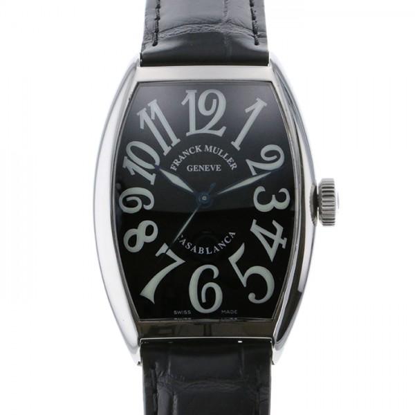 フランク・ミュラー FRANCK MULLER カサブランカ 5850CASA ブラック文字盤 メンズ 腕時計 【中古】