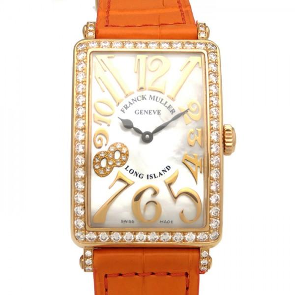 フランク・ミュラー FRANCK MULLER ロングアイランド 日本未入荷 188本限定 952QZ REL MOP D1R CD8 ホワイトシェル文字盤 レディース 腕時計 【新品】