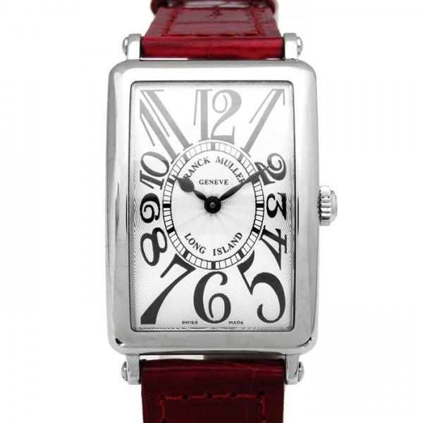 フランク・ミュラー FRANCK MULLER ロングアイランド 952QZ シルバー文字盤 レディース 腕時計 【新品】