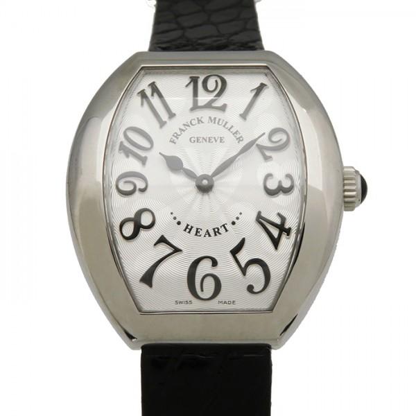 フランク・ミュラー FRANCK MULLER その他 ハートトゥハート 5002LQZ シルバー文字盤 レディース 腕時計 【新品】
