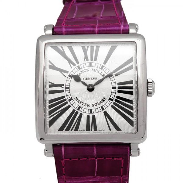 フランク・ミュラー FRANCK MULLER マスタースクエア 6002MQZR シルバー文字盤 レディース 腕時計 【新品】