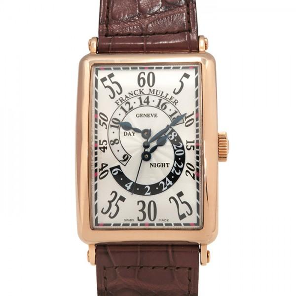 フランク・ミュラー FRANCK MULLER ロングアイランド ダブルレトログラードアワー 1250DHR シルバー文字盤 メンズ 腕時計 【新品】