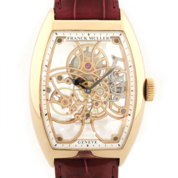 フランク・ミュラー FRANCK MULLER その他 セブンデイズ・パワーリザーブ・スケルトン 8880 B S6 SQT ピンクゴールド文字盤 メンズ 腕時計 【中古】