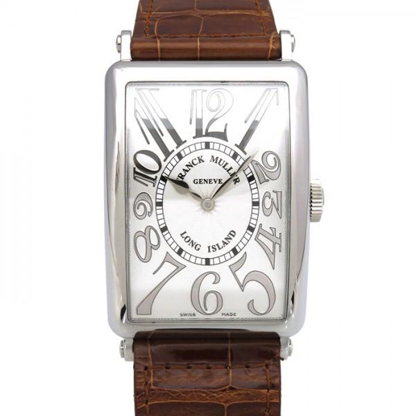 フランク・ミュラー FRANCK MULLER ロングアイランド 1200SC シルバー文字盤 メンズ 腕時計 【新品】