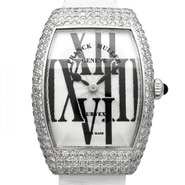 フランク・ミュラー FRANCK MULLER トノウカーベックス 1762QZ シルバー文字盤 レディース 腕時計 【新品】