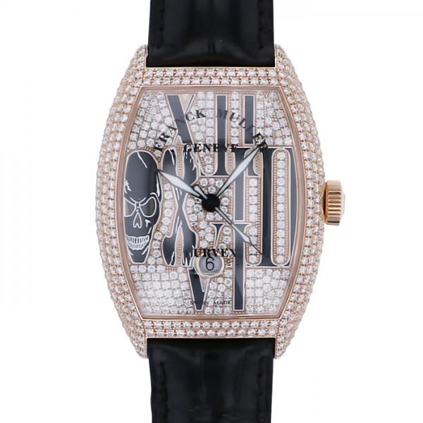 フランク・ミュラー FRANCK MULLER トノウカーベックス ゴシック アロンジェ 8880SC DT GOTH D CD 全面ダイヤ文字盤 メンズ 腕時計 【新品】