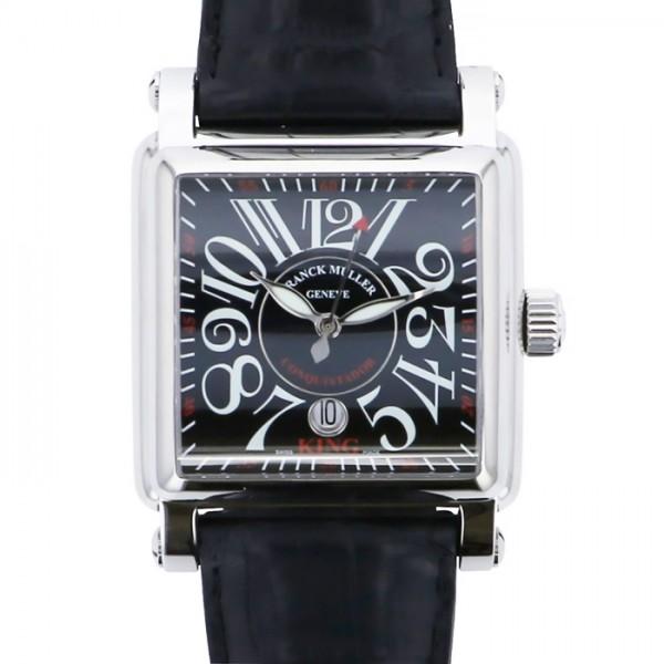 フランク・ミュラー FRANCK MULLER コンキスタドール コルテス 10000KSC AC ブラック文字盤 メンズ 腕時計 【新品】