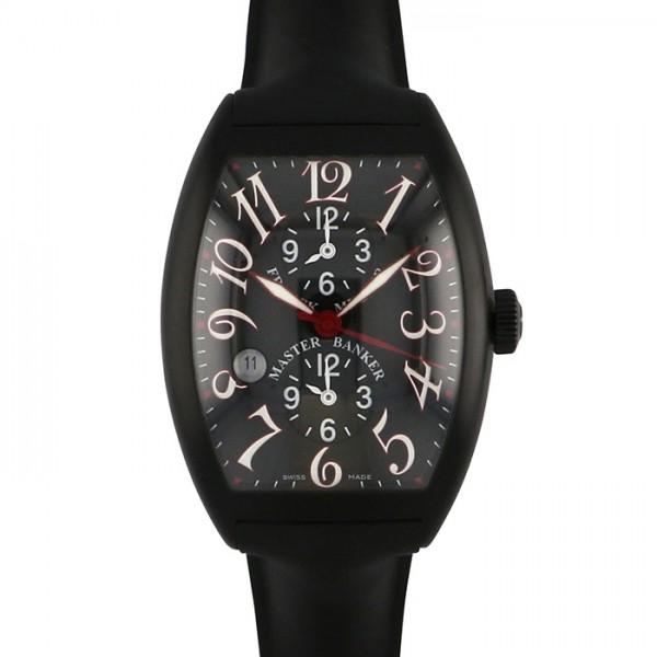 フランク・ミュラー FRANCK MULLER トノウカーベックス マスターバンカー デイト 8080MB SC DT NRREDAC ブラック文字盤 メンズ 腕時計 【新品】