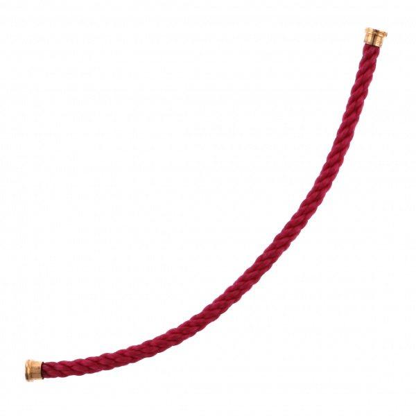 フレッド FRED ケーブル フォース10 レッド テキスタイル ケーブル(LM) 15 6B0184 メンズ ジュエリー 【新品】