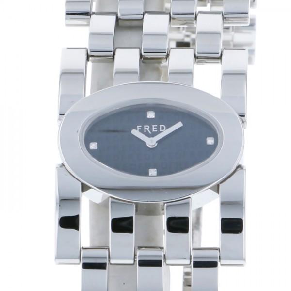 フレッド FRED その他 AC NOI ACIER FD032110M001 ブラック文字盤 レディース 腕時計 【新品】