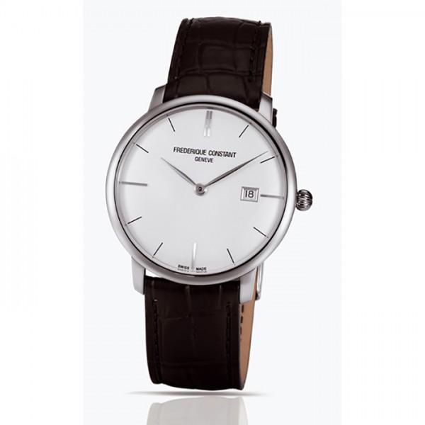 フレデリック・コンスタント FREDERIQUE CONSTANT スリムライン オートマチック FC-306S4S6 シルバー文字盤 メンズ 腕時計 【新品】