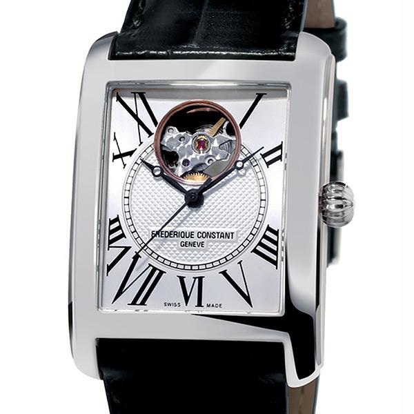 フレデリック・コンスタント FREDERIQUE CONSTANT クラシック・カレ オートマチック  FC-310MC4S36 シルバー文字盤 メンズ 腕時計 【新品】