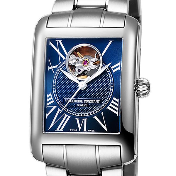 フレデリック・コンスタント FREDERIQUE CONSTANT クラシック・カレ オートマチック ハートビート 日本限定 FC-310MN4S36B ネイビー文字盤 メンズ 腕時計 【新品】
