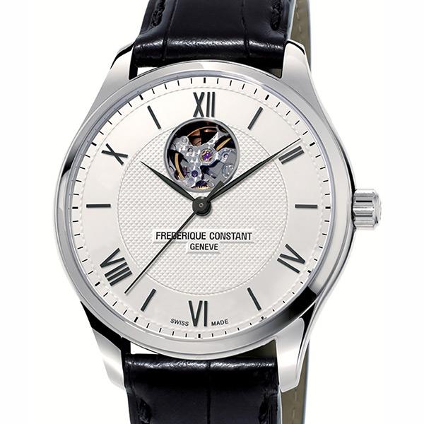 フレデリック・コンスタント FREDERIQUE CONSTANT クラシック インデックス ハートビート 日本限定モデル FC-310MS5B6 シルバー文字盤 メンズ 腕時計 【新品】