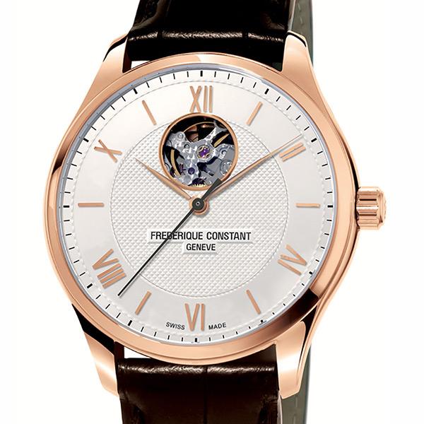 フレデリック・コンスタント FREDERIQUE CONSTANT クラシック インデックス ハートビート 日本限定モデル FC-310MV5B4 シルバー文字盤 メンズ 腕時計 【新品】
