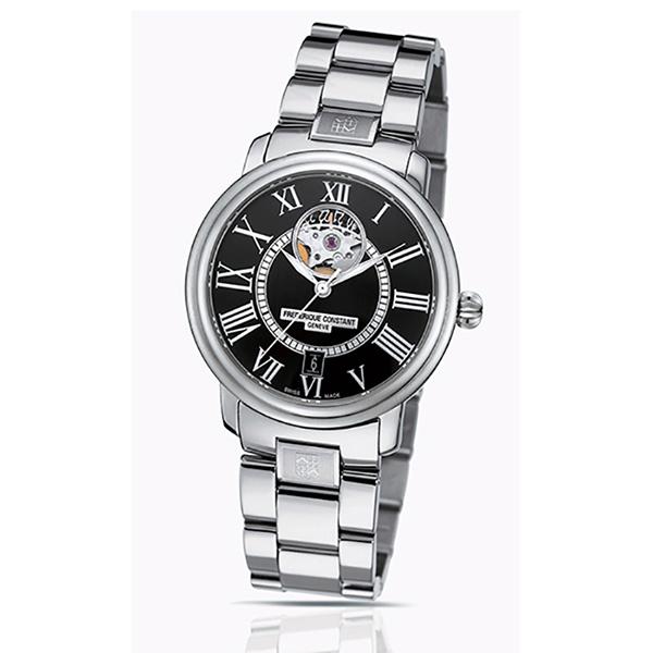 フレデリック・コンスタント FREDERIQUE CONSTANT クラシック ハートビート FC-315BS3P6B ブラック文字盤 メンズ 腕時計 【新品】