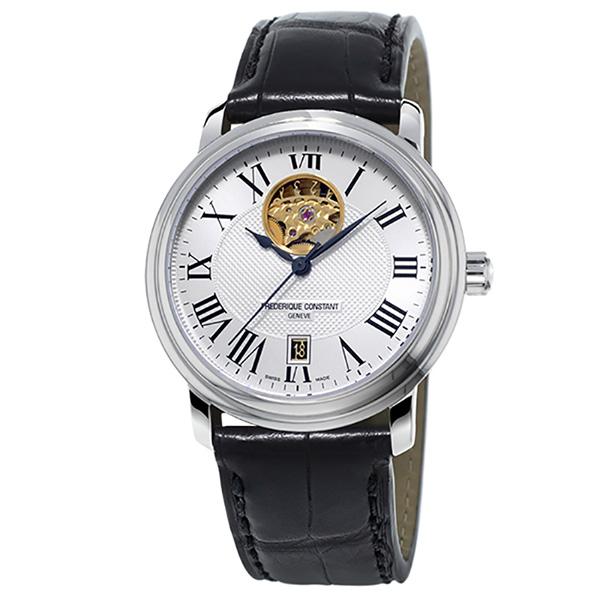 フレデリック・コンスタント FREDERIQUE CONSTANT クラシック ハートビート FC-315M4P6 シルバー文字盤 メンズ 腕時計 【新品】
