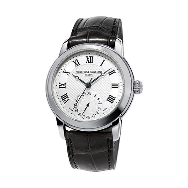 フレデリック・コンスタント FREDERIQUE CONSTANT マニュファクチュール クラシック FC-710MC4H6 シルバー文字盤 メンズ 腕時計 【新品】
