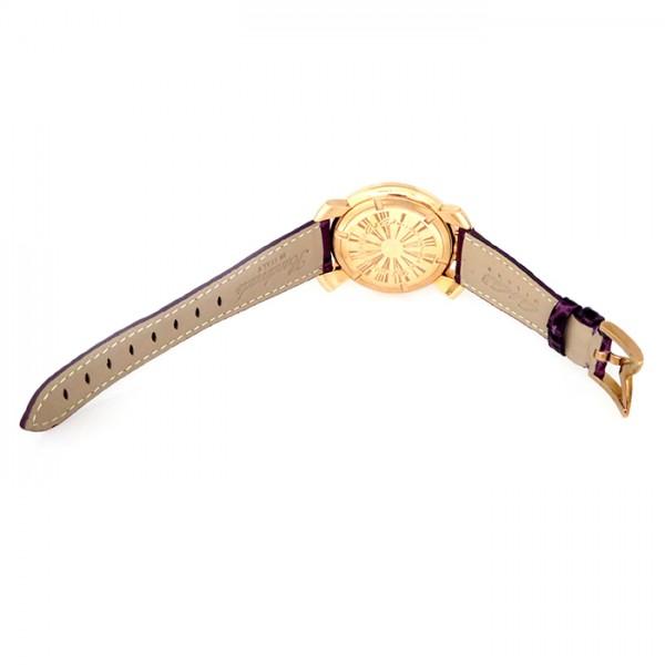 ガガミラノ GAGA MILANO マヌアーレ 40mm 5021.4 ホワイト文字盤 レディース 腕時計 【新品】