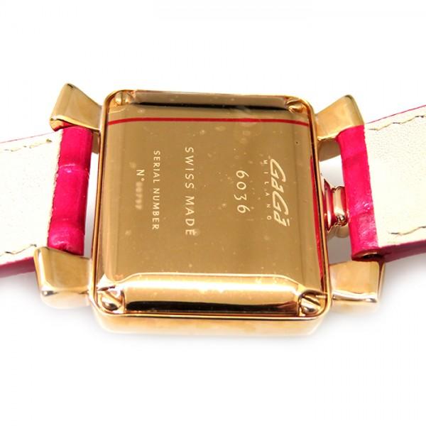 ガガミラノ GAGA MILANO ナポレオーネ ベイビー 6036.01 ホワイト文字盤 レディース 腕時計 【新品】