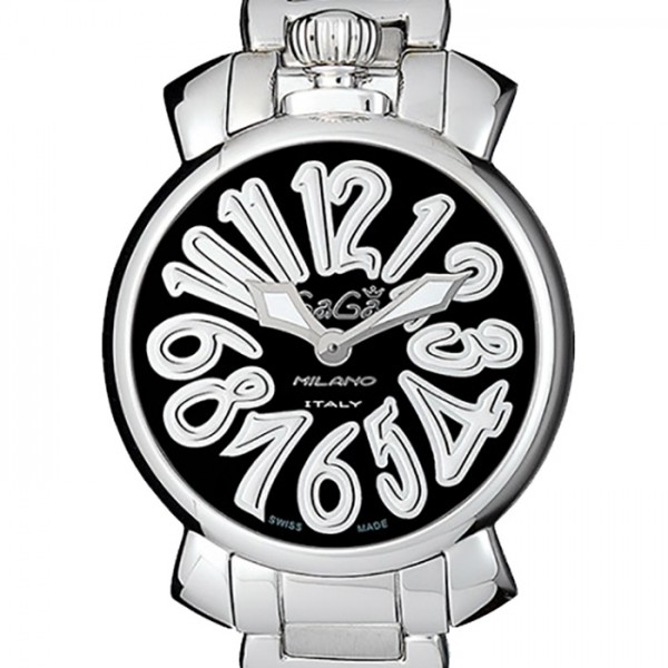 ガガミラノ GAGA MILANO マヌアーレ 35mm 6020.1 ブラック文字盤 レディース 腕時計 【新品】