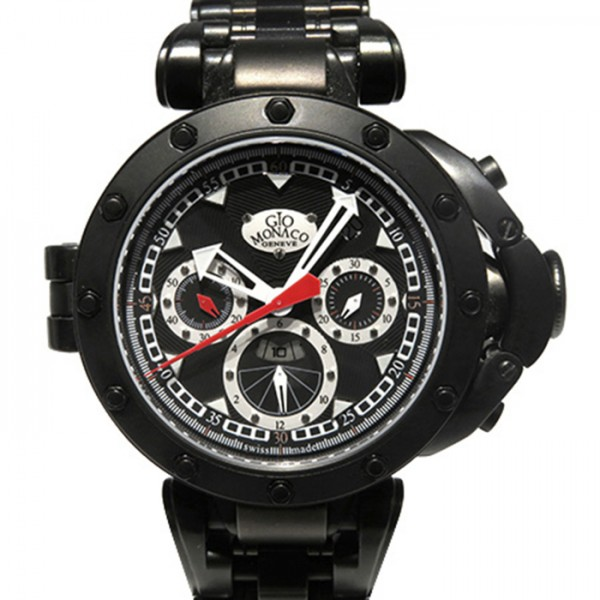 ジオ・モナコ GIO MONACO その他 オブロイド 523 ブラック文字盤 メンズ 腕時計 【新古品】