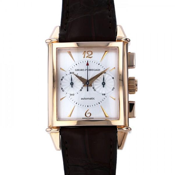 【全品 ポイント10倍 4/9~4/16】ジラール・ペルゴ GIRARD PERREGAUX その他 ビンテージ1945 2599 シルバー文字盤 メンズ 腕時計 【中古】