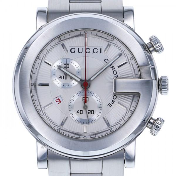 グッチ GUCCI その他 Gラウンド 101M シルバー文字盤 メンズ 腕時計 【新古品】