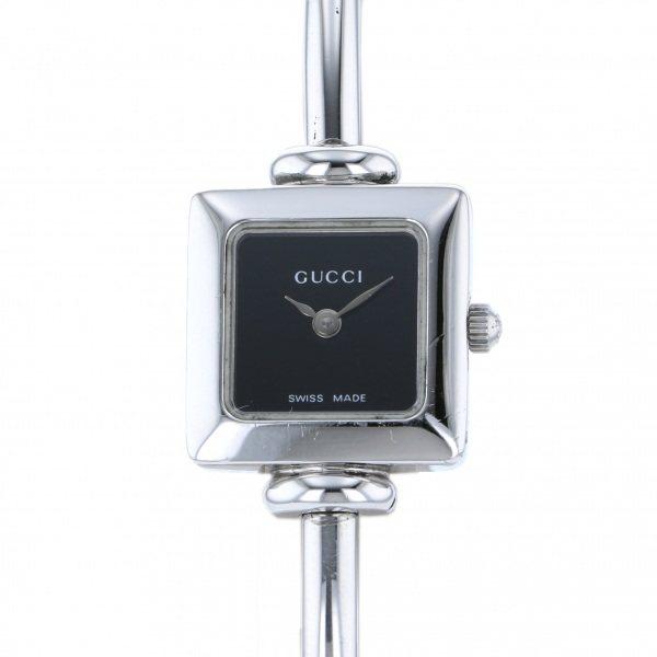 【全品 ポイント10倍 4/9~4/16】グッチ GUCCI その他 1900L ブラック文字盤 レディース 腕時計 【中古】
