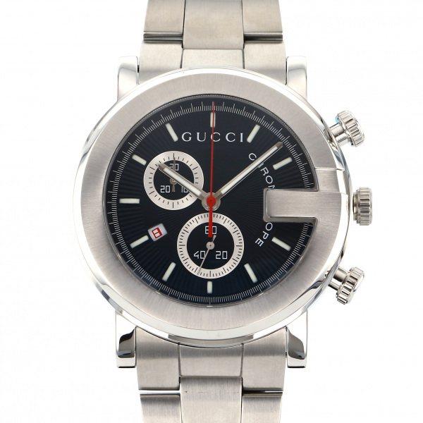 グッチ GUCCI その他 Gクロノ YA101309 ブラック文字盤 メンズ 腕時計 【新品】