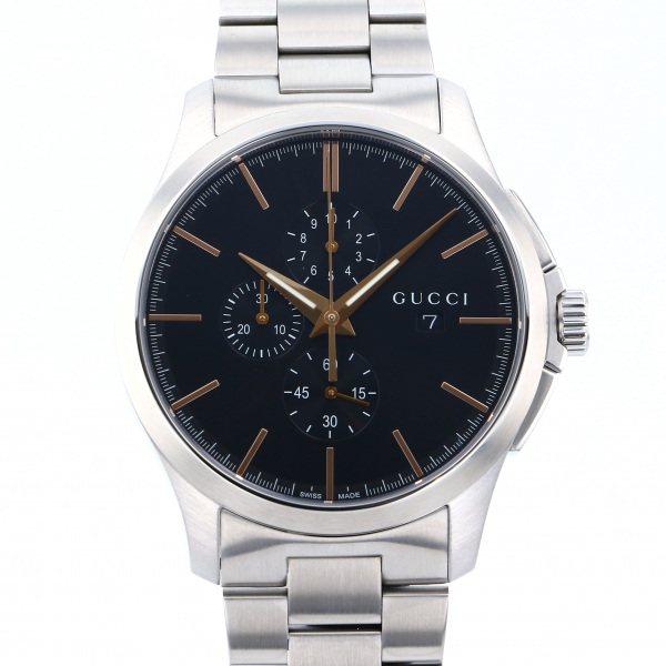 グッチ GUCCI その他 Gタイムレス YA126272 ブラック文字盤 メンズ 腕時計 【新品】
