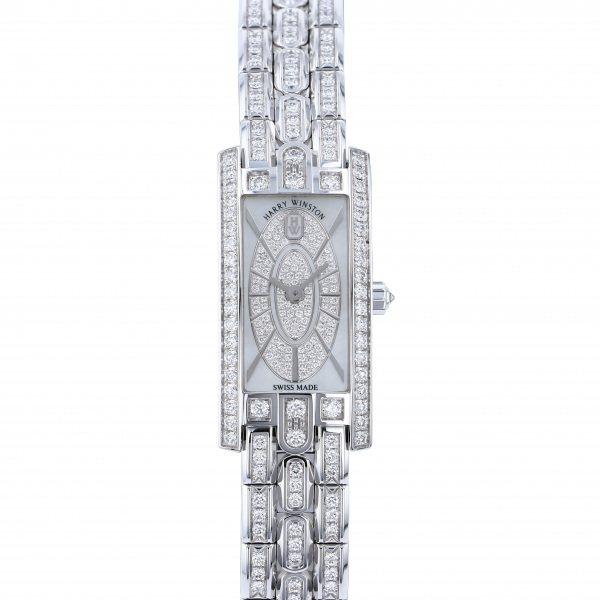 ハリー・ウィンストン HARRY WINSTON アヴェニュー C ミニ・エリプティック AVCQHM16WW054 ホワイト文字盤 レディース 腕時計 【新品】