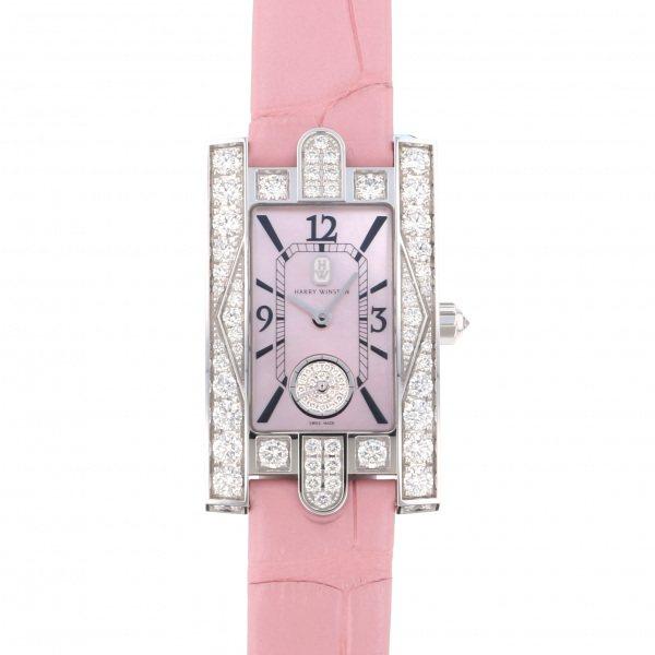 ハリー・ウィンストン HARRY WINSTON アヴェニュー クラシック ピンク AVEQHM21WW289 ピンク文字盤 レディース 腕時計 【新品】