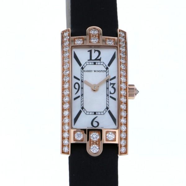 ハリー・ウィンストン HARRY WINSTON アヴェニュー C ミニ AVCQHM16RR017 ホワイト文字盤 レディース 腕時計 【新品】