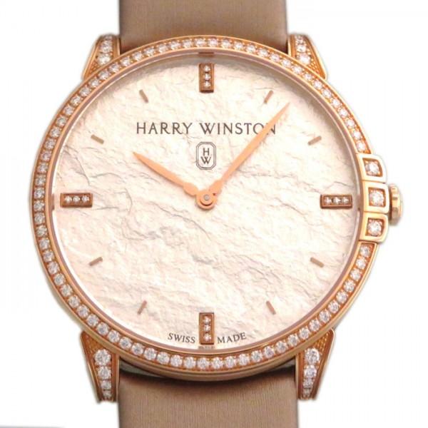 ハリー・ウィンストン HARRY WINSTON ミッドナイト ベゼルダイヤ MIDQHM39RR004 シルバー文字盤 メンズ 腕時計 【新品】