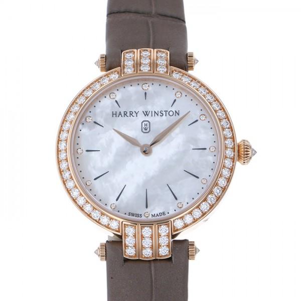 ハリー・ウィンストン HARRY WINSTON プルミエール 31mm ベゼルダイヤ PRNQHM31RR001 ホワイト文字盤 レディース 腕時計 【新品】