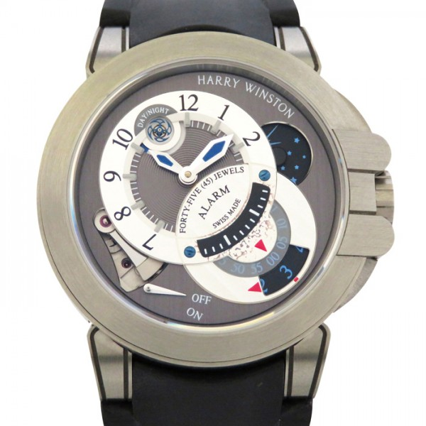ハリー・ウィンストン HARRY WINSTON オーシャン プロジェクトZ6 ザリウム 世界限定250本 OCEMAL44ZZ001 グレー/シルバー文字盤 メンズ 腕時計 【新品】