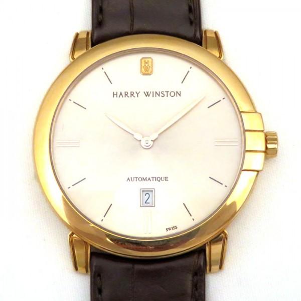 ハリー・ウィンストン HARRY WINSTON ミッドナイト オートマティック MIDAHD42RR001 シャンパン文字盤 メンズ 腕時計 【新品】