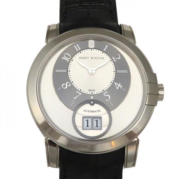 ハリー・ウィンストン HARRY WINSTON ミッドナイト ビッグデイト MIDABD42WW001 シルバー/グレー文字盤 メンズ 腕時計 【新品】