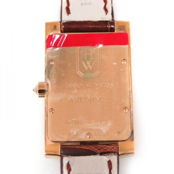ハリー・ウィンストン HARRY WINSTON アヴェニュー クラシック AVEQHM21RR122 シルバー文字盤 レディース 腕時計 【新品】