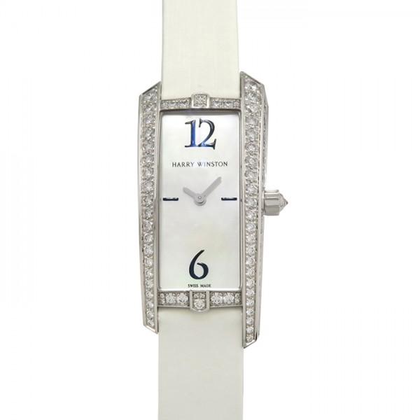 ハリー・ウィンストン HARRY WINSTON アヴェニュー トラフィック 340LQWL.M ホワイト文字盤 レディース 腕時計 【新品】