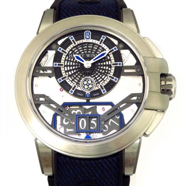 【税込】 ハリー・ウィンストン HARRY WINSTON オーシャン プロジェクトZ11 世界限定300本 OCEABD42ZZ001 ブラック/シルバー文字盤 新品 腕時計 メンズ, こだわりスィーツ KONNICHIWA 3faf5b3a