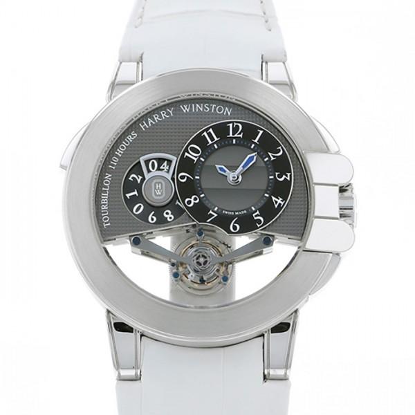 ハリー・ウィンストン HARRY WINSTON オーシャン トゥールビヨン ビッグデイト 世界限定25本 OCEMTD45WW002 グレー文字盤 メンズ 腕時計 【新品】