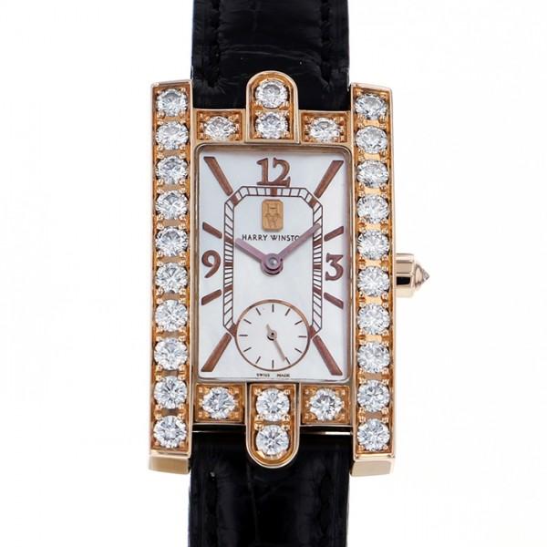 ハリー・ウィンストン HARRY WINSTON アヴェニュー レディーアヴェニュー 310/LQRL.M/D3.1 ホワイト文字盤 レディース 腕時計 【中古】