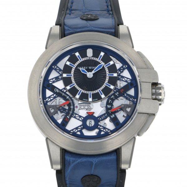 ハリー・ウィンストン HARRY WINSTON オーシャン プロジェクトZ10 世界限定300本 OCEABI42ZZ001 ブラック/シルバー文字盤 メンズ 腕時計 【中古】