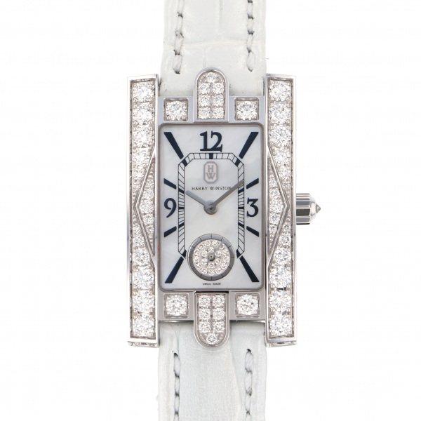 ハリー・ウィンストン HARRY WINSTON アヴェニュー クラシック オーロラ AVEQHM21WW231 ホワイト文字盤 レディース 腕時計 【新品】