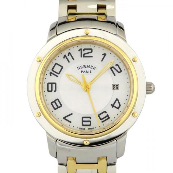 エルメス HERMES その他 クリッパー CP1.320.212/4968 ホワイト文字盤 レディース 腕時計 【新品】