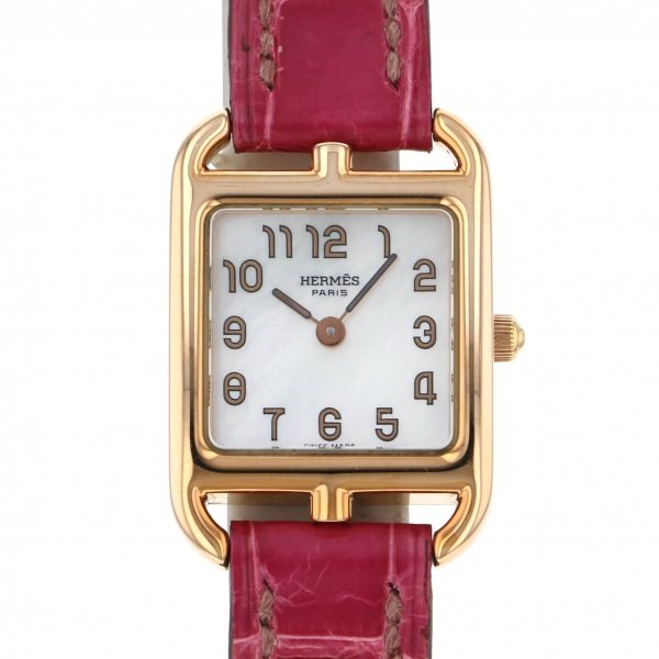 エルメス HERMES その他 ケープコッドミニ CC1.170 ホワイト文字盤 レディース 腕時計 【中古】