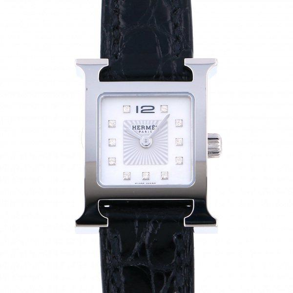 エルメス HERMES その他 Hウォッチミニ HH1.110 ホワイト文字盤 レディース 腕時計 【新品】