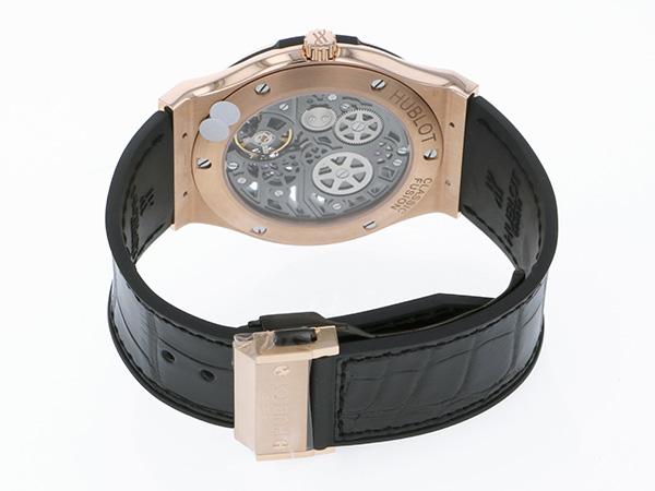 ウブロ HUBLOT クラシックフュージョン クラシコ ウルトラシン スケルトン 515.OX.0180.LR スケルトン文字盤 メンズ 腕時計 【新品】